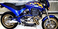 buell sport bike sportbike candy flame job paint
