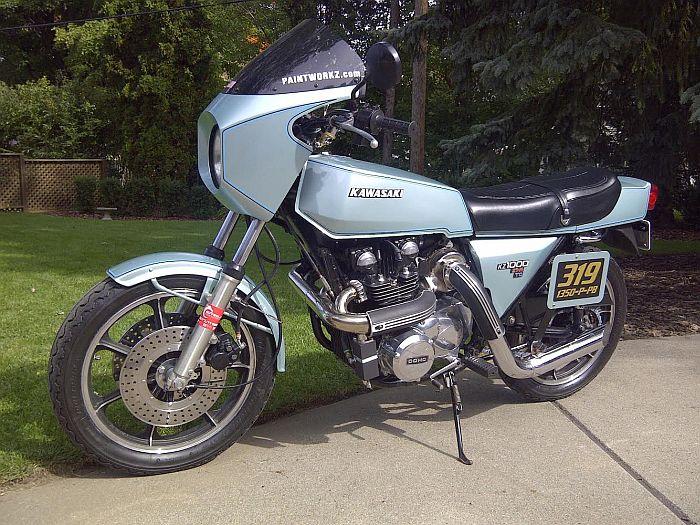 Kawasaki Z Paint