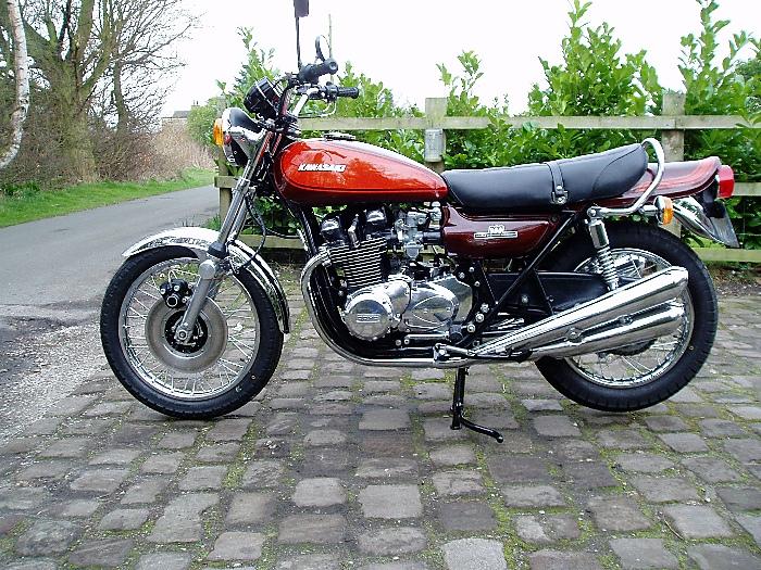 1974 Kawasaki Z1 900 Parts